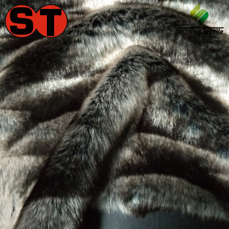 Free Sample Long Pile Faux Fur Fabric/Long Pile Cuff Fur Fabric/Long Pile Fake Fur Fabric