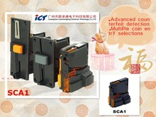 Advanced counterfeit detection ICT SCA1 Multi-coin acceptor and sorter for kiosk,vending,gaming,self-service payment