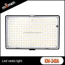 Manufacture high quality SLR led video camera light / fill led light photographic
