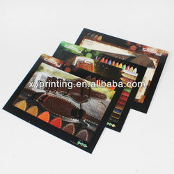 Company product postcard for promotion