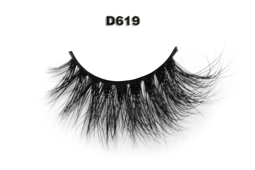 2016 best sellers natural 100% 3D mink eyelash extensions with free box