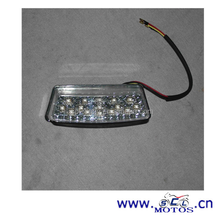 SCL-2012110450 LED YBR125 motorcycle rear light manufacturing spare parts motorcycles