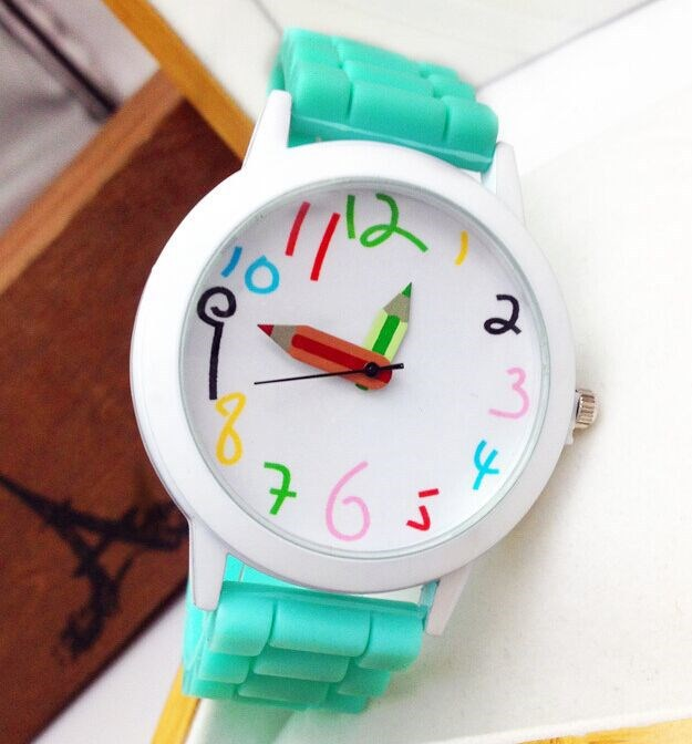 2015 hot sale silicone watch good for promotional gift, alloy case with silicone band and quartz movement