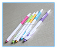 2014 novel design promotion clear plastic pen for promotion by producer