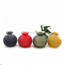 Home Decoration Various Styles Fancy Flower Shaped Glass Vase