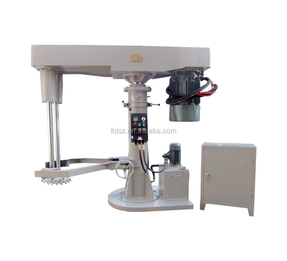China hot sale Shenzhen supplier 37kw high speed paint dual shaft dispersion machine with remote control