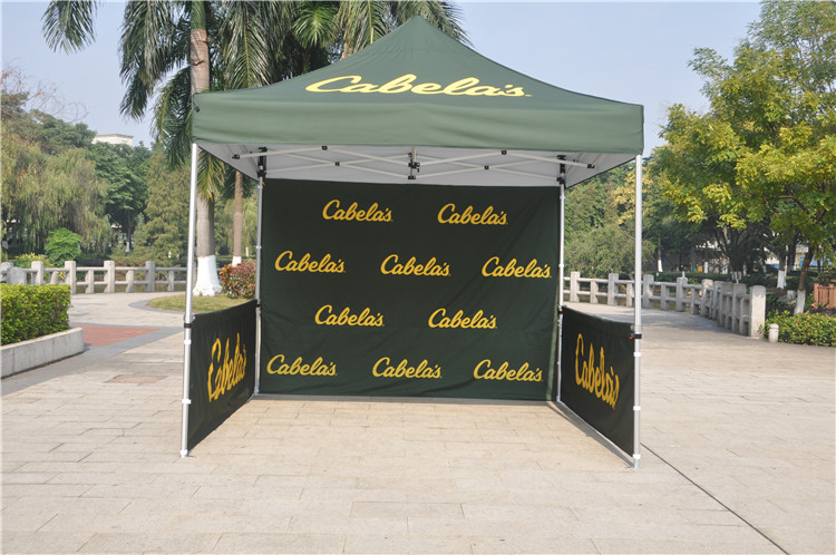 Chinese Factory directly sell 10ftx10ft Aluminum hex economic folding tents promotional trade show tent