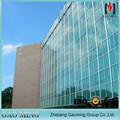 Glass Wall with Low-E Double Glazing Glass panels for sale