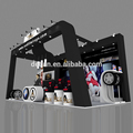 Detian Offer tare booth system custom portable cheap trade show exhibition display, free design exhibition booth design