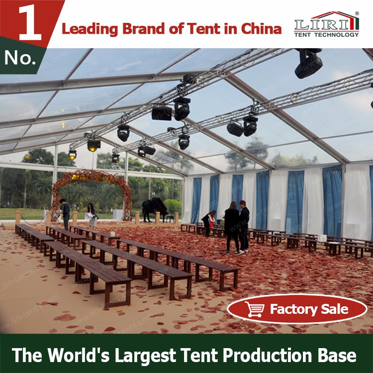 transparent marquee party wedding tent & clear roof marquee wedding tent