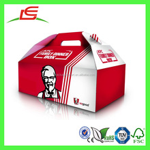 J700 Recycled Custom KFC Food Grade Paper Packaging Box