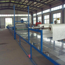 FRP corrugated sheet making machine