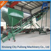 Mobile type transport machine portable conveyor