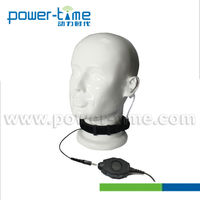 Dual throat activated microphone wonderful for public safety,special ops,tactical team and etc.