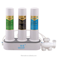 Popular Countertop three stage PP +Actived Carbon +UF Water Filter