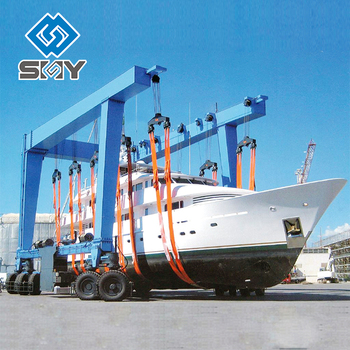 The Boat Marine and Boat Yard Use Crane Yacht Lift Crane Price
