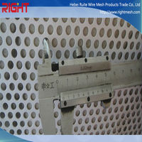 perforated metal tube well filter / metal mesh pipe ( China manufacturer )