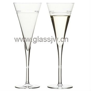 Wholesale crystal ball dancing party Champagne glasses Cocktail glass champagne flutes for dinner drinking