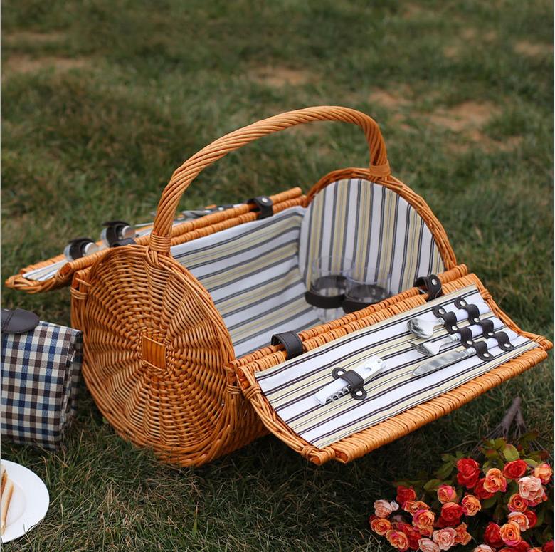 Picnic Basket Jakarta : Wholesale cheap wicker baskets picnic basket buy