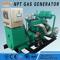 CE approved 50kw generator biogas gas genset price