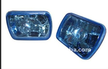 "auto 7"" square sealed-beam crystal headlight"