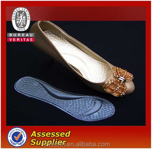 transparent designer shoe insoles for high heel shoes
