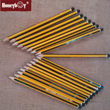 7 Inch High Quality Stripped 2HB Pencils