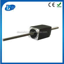 mini 28mm nema11 non-captive linear stepper motor 12V in China factory
