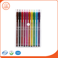 Lantu High Quality Rainbow Colors Office Desk Supplies Promotion Ballpoint Pen