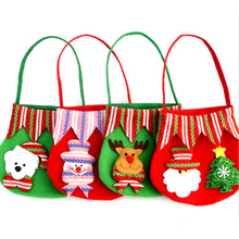 Tree Decoration Santa Claus Kids Candy Bag Home Party Decoration Christmas Gift Bag