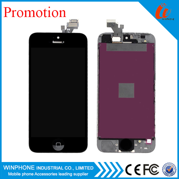 Wholesale foxconn lcd for iphone 5 , for iphone 5 lcd touch screen with digitizer