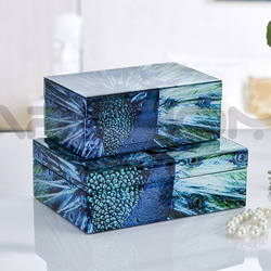 Elegance Attractive Design Delicate Colors Acrylic Jewelry Display Case