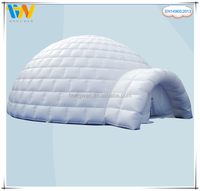 Big discount clear inflatable lawn dome camping tent