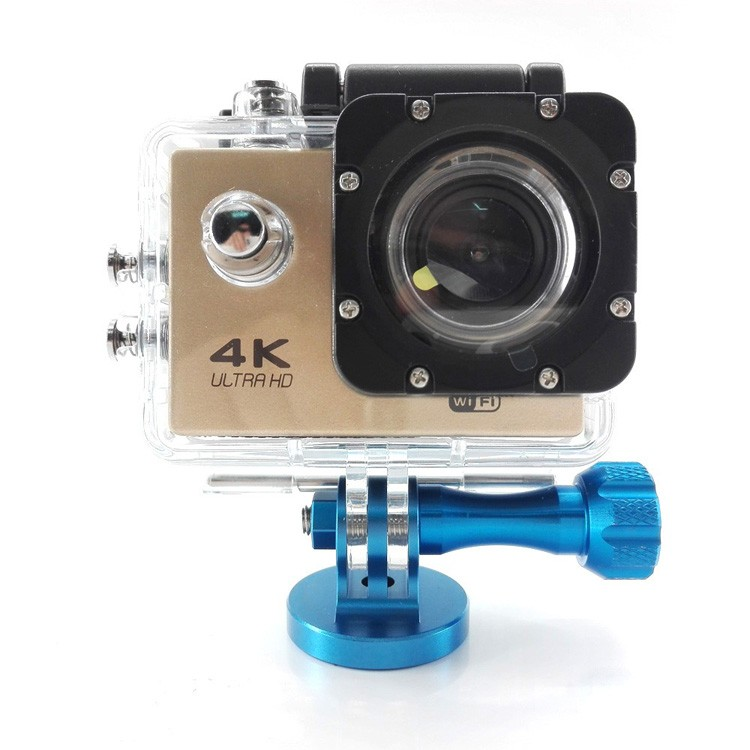 Factory go pro Accessories Aluminum Adapter Mount Head For Go Pro HD He ro 1 2 3 3+ 4 NEW