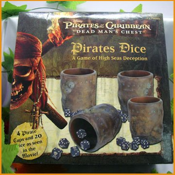Pirates Style Dice Cup