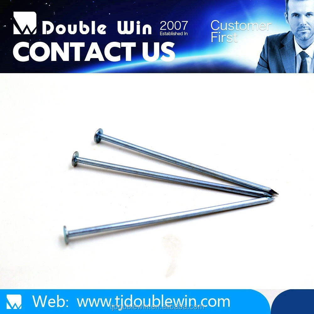 High quality carbon steel Q195 galvanized common nail