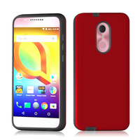 Veaqee Factory Price TPU + PC Customized Mobile Phone Cover Combo Case For Alcatel A3 Plus