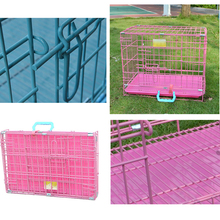 High Quality Foldable Two Door Large Metal Pet Cage Dog Crate Pet Kennels