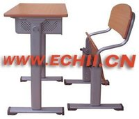 Folding school furniture desk and chair with popular style