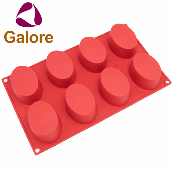 Silicone Baking Moulds Different Shape Custom Silicone Soap Molds