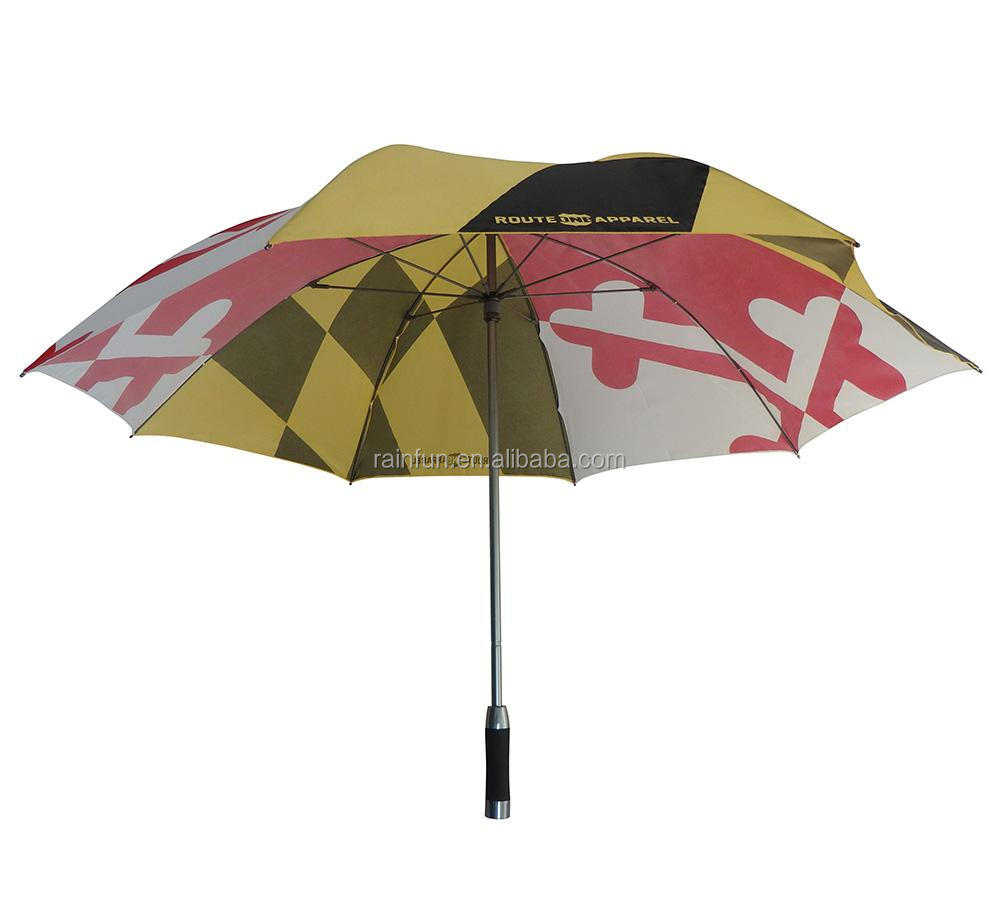 New fashion high quality golf umbrella promotional