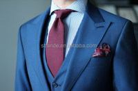 High quality Milano handmade lapel buttonhole men's fashion bespoke tailored custom made 100% wool wedding suits
