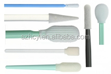 HCY 100ppi. cleanroom with IS CE certification high quality ultrasolv tip with esd swab stick brush