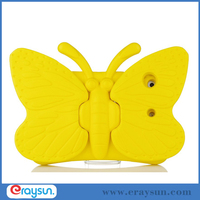 Movable Butterfly Wing EVA Foam Soft Cartoon Stand Cover Case For Apple iPad minI