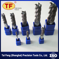 New Style Low Cost Ordinary Coating 4 Flute Cutting And Forming Tools End Mill Cutters