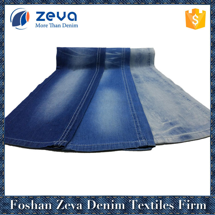 China manufacturer hot sale navy blue stocklot stretch new denim fabric for sportswear