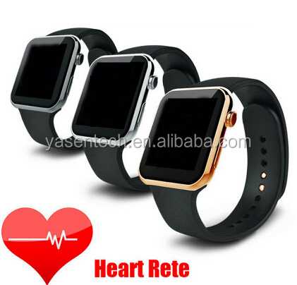 New Smartwatch A9 Bluetooth smart watch ios support ios Android Phone with Heart Rate monitor