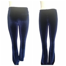 Hot sale plus size low waist zipper crotch pants trouser for modern girl