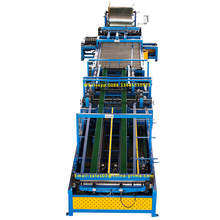 Hot selling square duct making machine /ducts manufacture auto line 5/rectangular air pipe forming line V