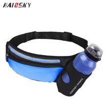 HAISSKY New Fashion Custom Running Hydration Pouch Belt Waist Bag for iphone 6/6s/7/8/x